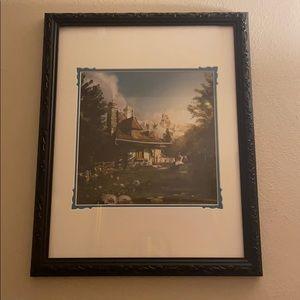 New Fantasyland Belle Print w/ Mickey Mouse Frame